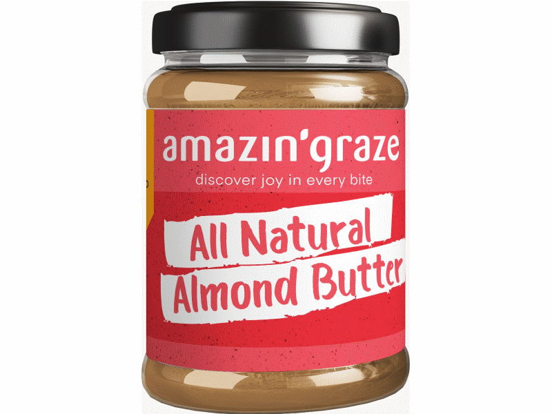 Amazin' Graze All Natural Almond Butter