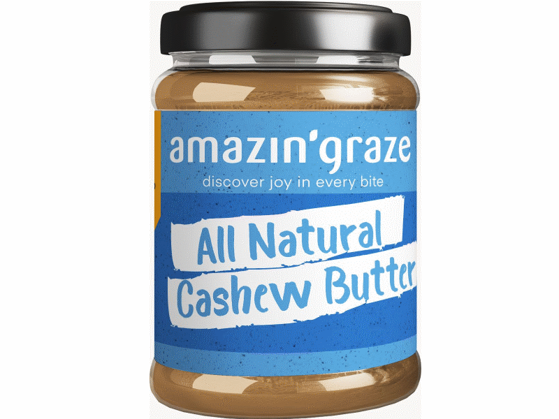 Amazin' Graze All Natural Cashew Butter