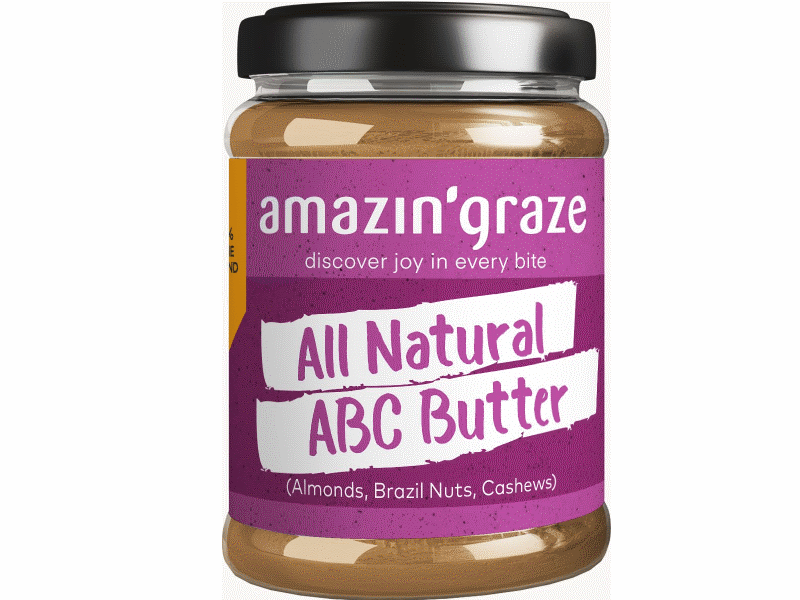 Amazin' Graze ABC Butter (Almonds, Brazil Nuts, Cashews)