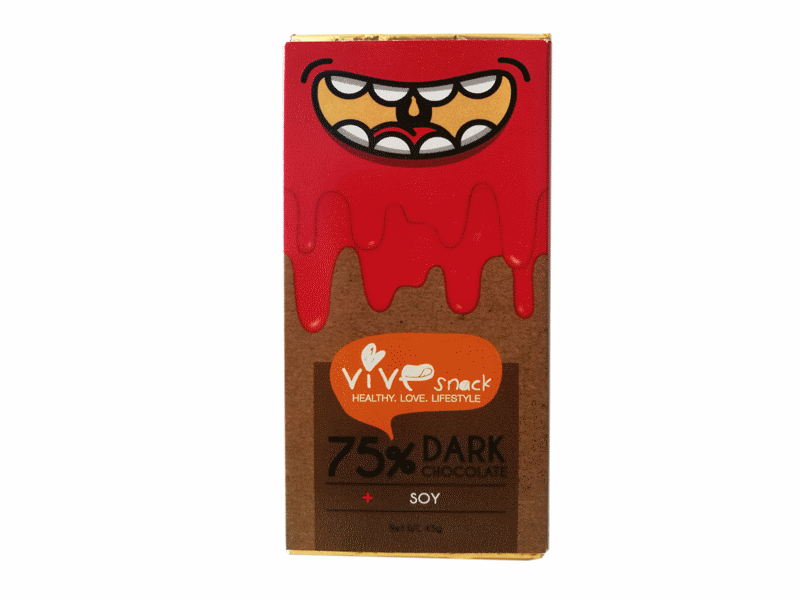 Vie Verte Dark Chocolate Soy bar 45g