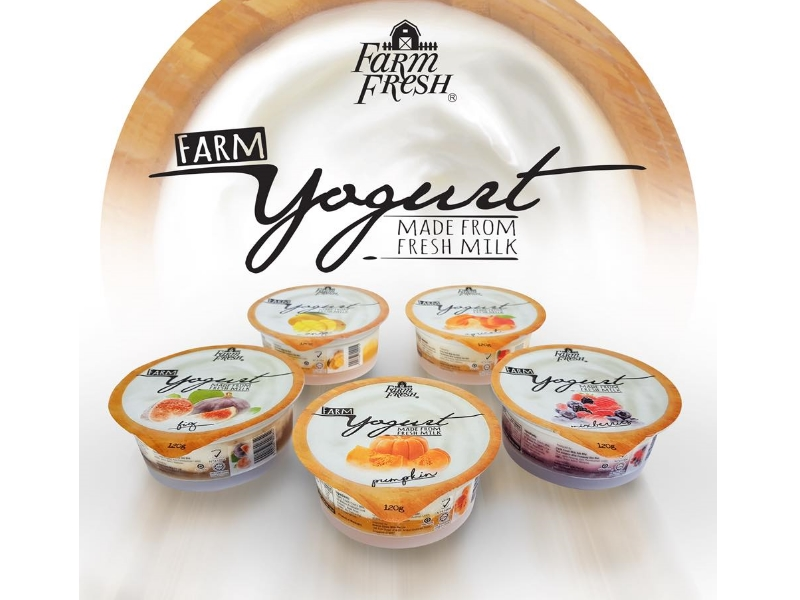 FARM FRESH Yogurt Mix Berries 120g
