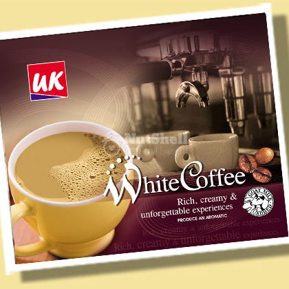 UK FARM Goat Milk Powder White Coffee (12x25g)