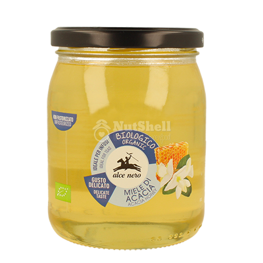 ALCENERO Organic Italian Wildflower Honey 400g
