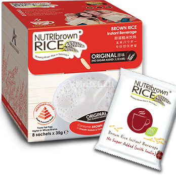 NutriBrownRice® Original (No Sugar Added) (8x35g)