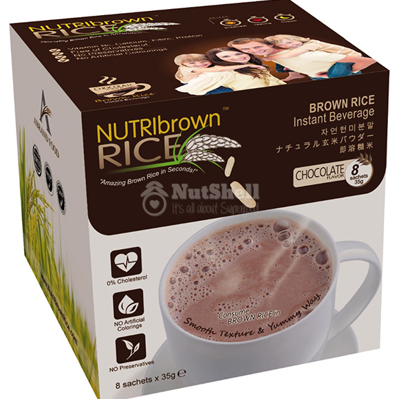 NutriBrownRice® Chocolate (8x35g)