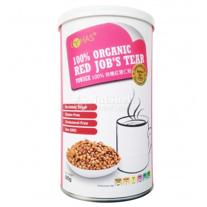 LOHAS 100% Organic Red Job's Tear Powder Gluten Free (500g)