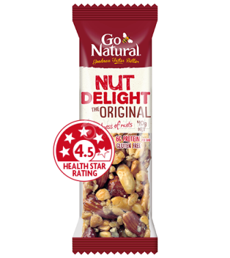 GO NATURAL Nut Delight Protein Bar (40g)