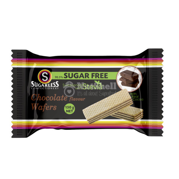 SUGARLESS Chocolate Wafer With Stevia 150g