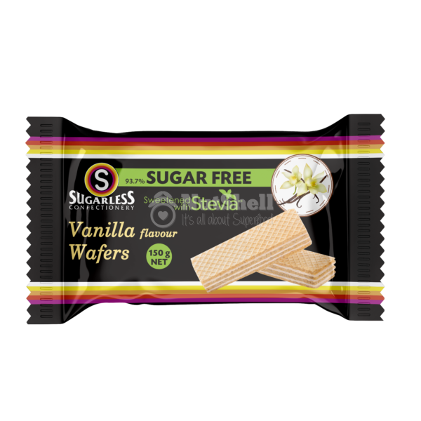 SUGARLESS Vanilla Wafer With Stevia 150g