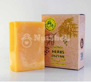 MIRACULOUS Chinese Herbal Enzymes Handmade BODY Soap 神奇中草药酵素身体皂