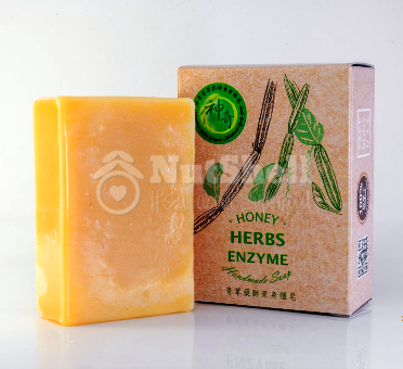 MIRACULOUS Fresh Herbal Enzymes Handmade BODY Soap 神奇青草药酵素身体皂
