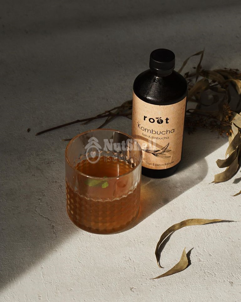 ROOT Black Tea Kombucha 125ml